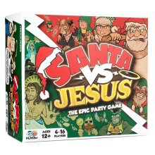 McMiller Entertainment Santa Vs Jesus | Party Game For Adults & Older Children