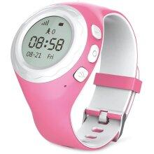 WATCHU Kids GPS Tracker Smartwatch with SOS Button