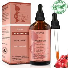 Rosehip Oil Certified Organic 100% Cold Pressed Best Facial Oil