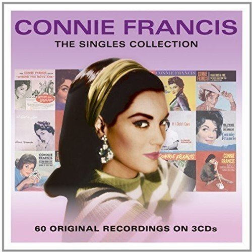 Connie Francis - the Singles Collection [3cd Box Set]