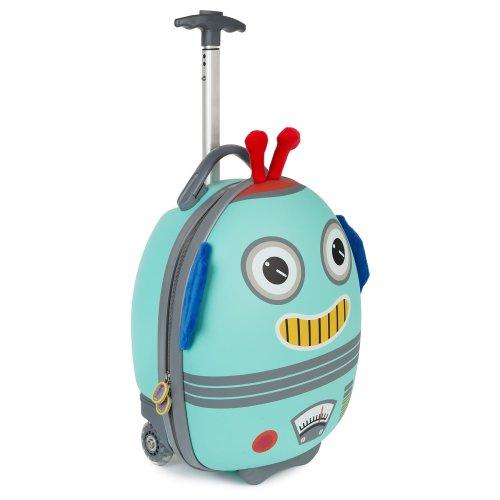 Boppi Tiny Trekker Wheeled Kids Luggage | Suitcase |  Bag – Robot