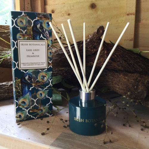 Irish Botanicals Reed Diffuser - Earl Grey & Primrose