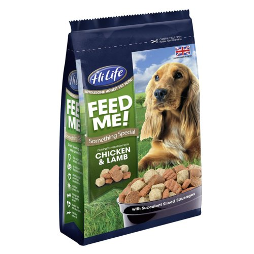Hilife Feed Me! Something Special With Chicken & Lamb (quad Bags) 1.8kg (Pack of 1)