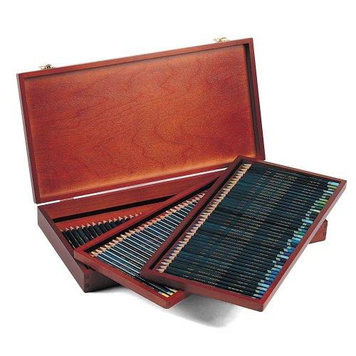 Multicolours Set of 120 Derwent Artists Colouring Pencils Wooden Box