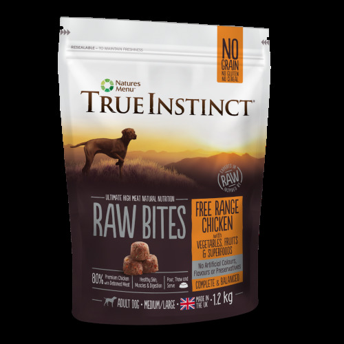 Natures Menu True Instinct Raw Frozen Superfood Nuggets for Dogs