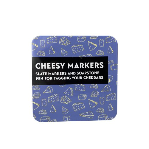 Cheesy Markers - in a Tin
