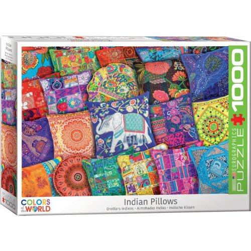 EG60005470 - Eurographics Puzzle 1000 Pc - Indian Pillows