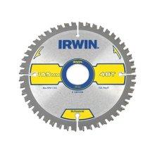 Irwin 1897438 Multi Material Circular Saw Blade 165 x 30mm x 48T TCG/Neg