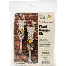 Macrame Plant Hanger Kit-Two Minis