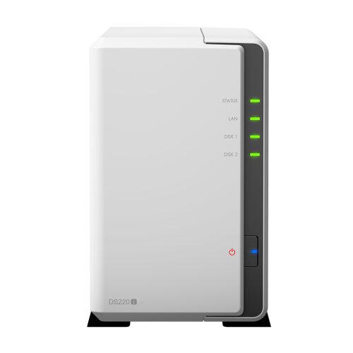 Synology DiskStation DS220j RTD1296 Ethernet LAN Mini Tower White NAS