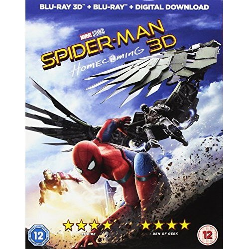 SPIDER-MAN HOMECOMING 3D [DVD]