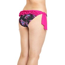 Curvy Kate Moonflower Ruffle Detail Bikini Briefs in Print Size 16