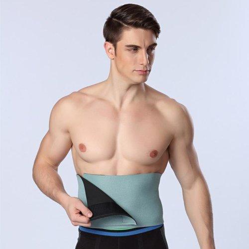 HOT Men/women Waist Cincher Slimming Belt Belly Abdomen Shaper Girdle Fitness Men Body Shaper Belt Colorful Tummy Trimmer