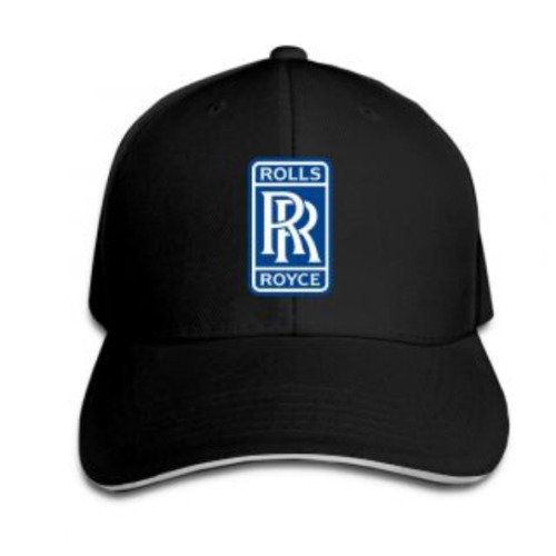 Rolls Royce Sandwich Baseball Caps For Unisex Adjustable