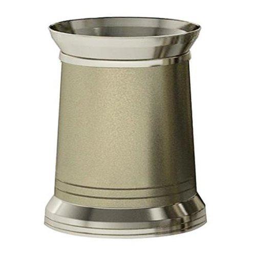 NuSteel LHMS8H Light House Matt-Shiny Waste Basket