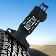 Tread Depth Gauge Meter Tester Measure Tool Digital Tyre Tire