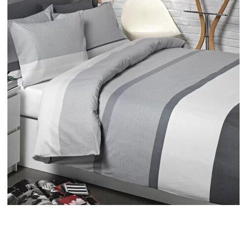 Grey Stripes Double Duvet