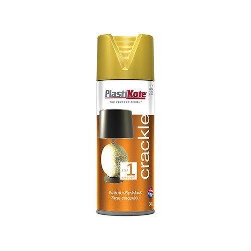 Plasti-Kote PKT482 Crackle Touch Spray Gold Base Coat 400ml