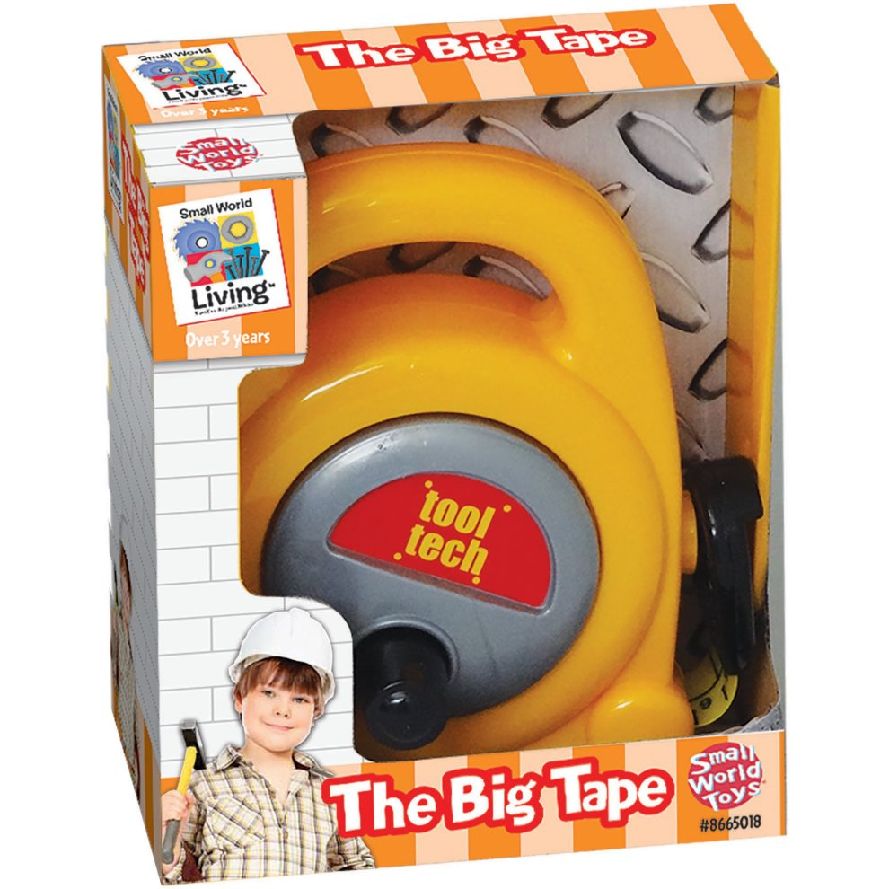 Small World Toys Toy Tape Measure-The Big Tape