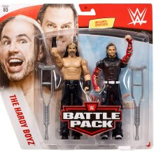 WWE Battle Pack - Series 65 - Matt Hardy & Jeff Hardy (Hardy Boys)
