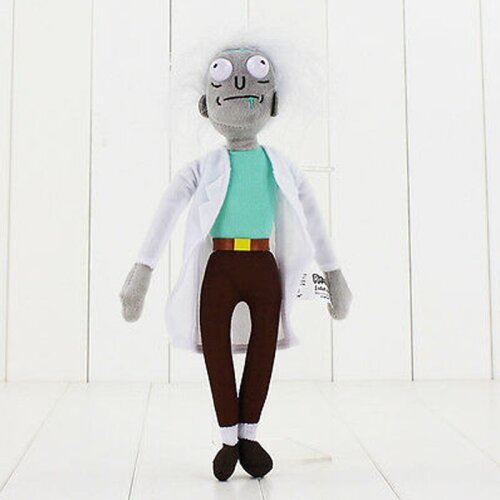 Rick And Morty Stuffed Plush Doll Soft Toy 25cm