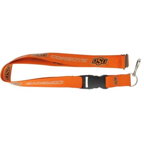 Amo 6326401635 Oklahoma State Cowboys Lanyard, Orange