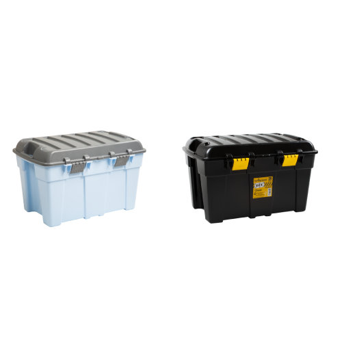 48L Wham Plastic Storage Trunk Box Toy Tool Boxes Chest