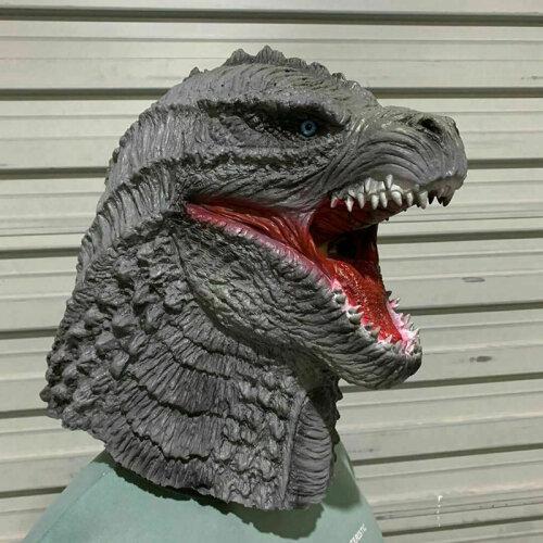 King of monsters Godzilla Dinosaur Latex mask Halloween  Masquerade