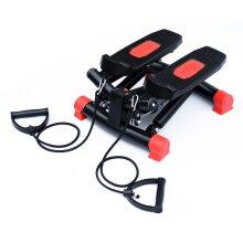 HOMCOM Mini Stepper Home Fitness Leg Arm Cord Training Gym Exercise Machine