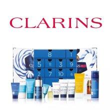 Clarins Men 12 Days of Christmas Advent Calendar Body Care Gift Set