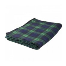 Ability Superstore Water Resistant Cosy Black Watch Blanket