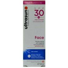 Ultrasun Face SPF30 Moisturising Anti-Ageing Sun Protection Sensitive Skin 50ml