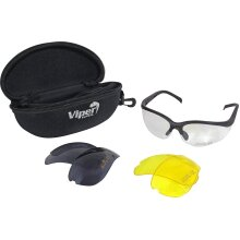 Viper TACTICAL Mission Glasses Ideal for Airsoft Shooting Hunting and Fishing
