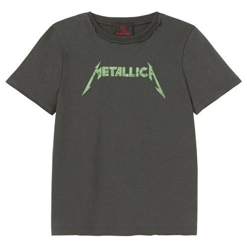 Metallica 'Neon Logo' Kids T-Shirt - Amplified Clothing