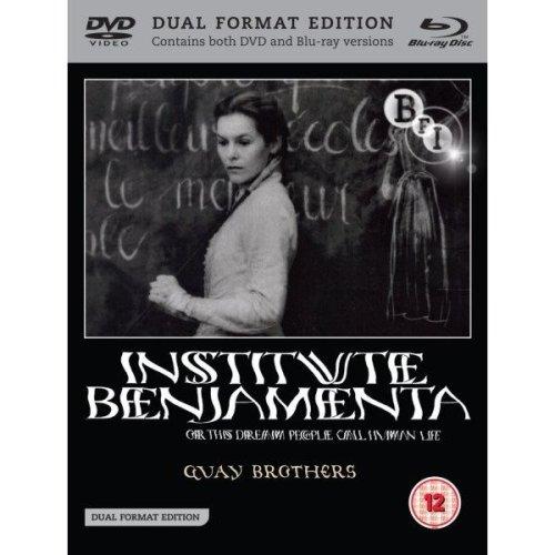 Institute Benjamenta Or This Dream That One Calls Human Life Blu-Ray + DVD [2010]