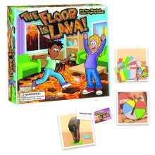 Kids and Adults Lava jumping The Floor is Lava Easy to Play Board Game Xmas