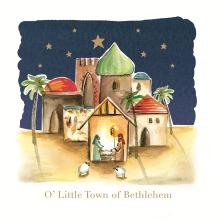 Pack of 8 Bethlehem Alzheimer's Society Charity Christmas Cards Xmas Cards