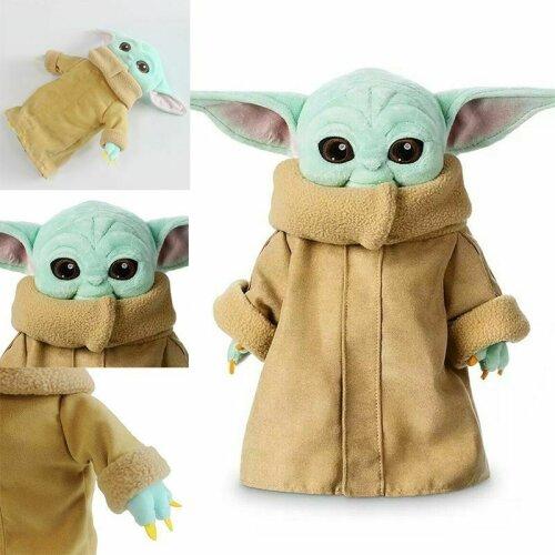 30cm Baby Yoda Plush Toy Stuffed Doll Kids Gift