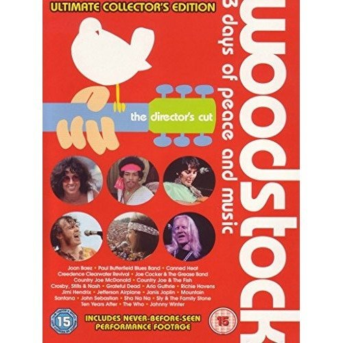 Woodstock - 3 Days Of Peace And Music DVD [2009]