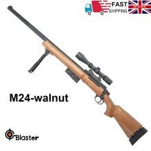 Manual Bolt Action M24 Gel Ball Blaster Toy Gun Water Mag-fed