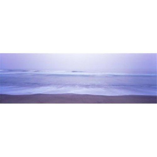 Surf on the beach at dawn  Point Arena  Mendocino County  California  USA Poster Print by  - 36 x 12