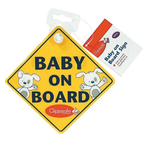 Clippasafe Baby on Board Warning Sign