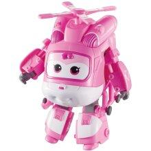 "Super Wings Transforming Vehicle Series 1 Dizzy Plane Bot 5"" Figure Plastic"