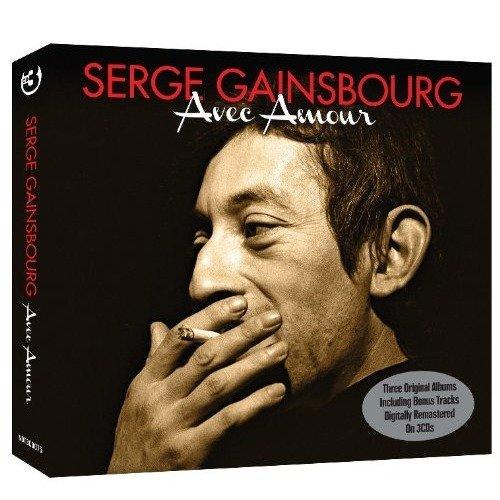 Avec Amour Box Set Original Recording Remastered Audio Cd Serge Gainsbourg
