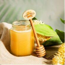 Bee Bamboo Honey Spoon