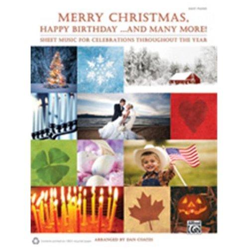 Alfred 00-37779 MERRY CHRISTMAS HAPPY BIRTHDAY-EP