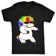 8TN Floss Unicorn - Funny Dance Hip Hop Dab Mens T Shirt