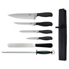 6 Piece Soft Grip Knife Set