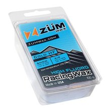ZUMWax HIGH FLUORO SkiSnowboard RACING WAX COLD Temperature 100 gram INCREDIBLY FAST in COLD Temperature