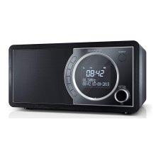 Sharp DR-450(BK) 6W DAB+ FM Bed Side Radio with Bluetooth & LED Display - Black